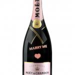 """Rosê-Champagner """"Limitied-Edition"""" von Moet Chardon, gesehen bei Käfer in München, ca. 80 EUR"""