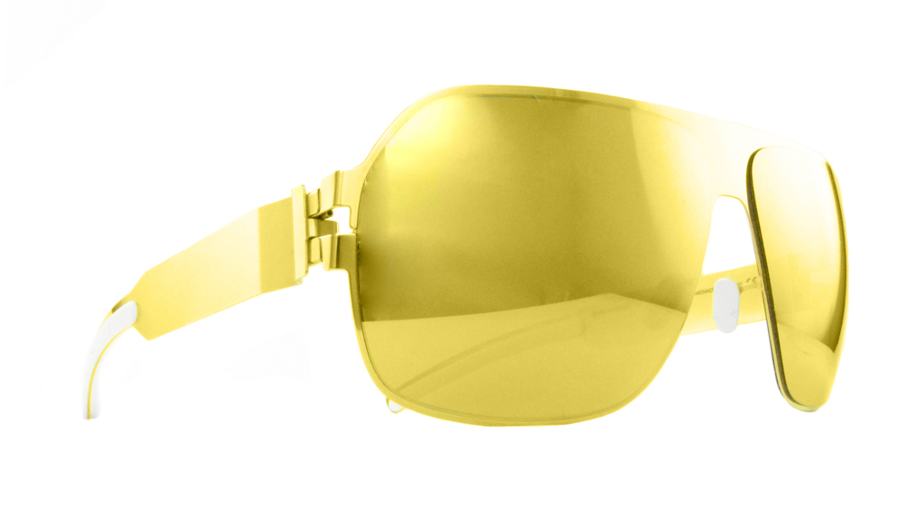 "Shades ""Xaver"", gold, von Mykita, ca 220 EUR"