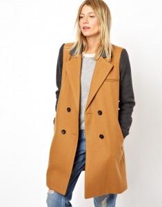Contrast Sleeve Coat, ASOS, ca 104 EUR, asos.com