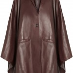 Leather-cape von Givenchy ca 7000 EUR, net-a-porter.com