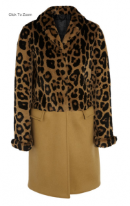 Leo-print rabbit and cashmere coat, Burberry Prorsum, 9000 EUR, net-a-porter.com