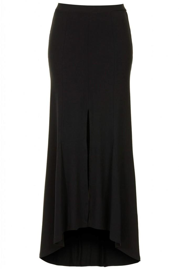 Split godet maxi skirt, topshop 32 EUR