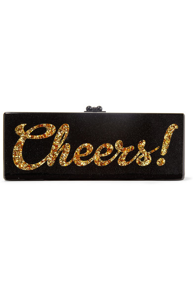 Edie Parker, Cheers Acryl Clutch, net-a-porter