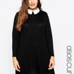 Asos Curve, knitted dress